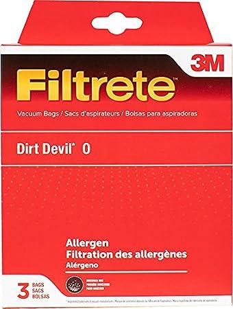 3M Filtrete Dirt Devil O Allergen Vacuum Bag White Electrolux 65705 Tattoo