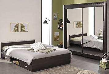 Camere Da Letto Giovani : Bambini pezzi marrone grigio per funzione letto armadio con