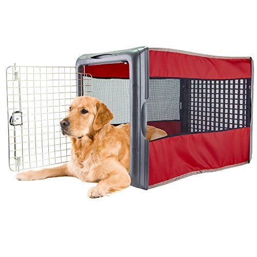 large pop crate red dog house dogs cats houses kennel crate play pen igloo outdoor indoor sale by sportpet