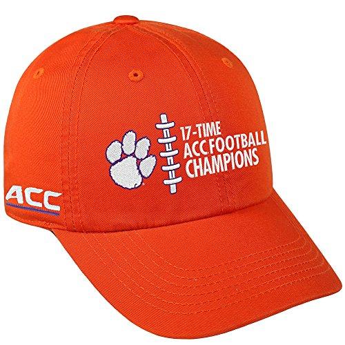 Clemson Tigers ACC Champs Hat 2017 - Orange (Hat Acc)