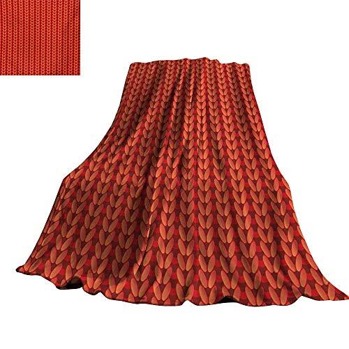 Angoueleven Modern,Plush Blanket Knitting Design Old Hand Made Vector Seamless Pattern Artwork Image Print All Season Blanket 60