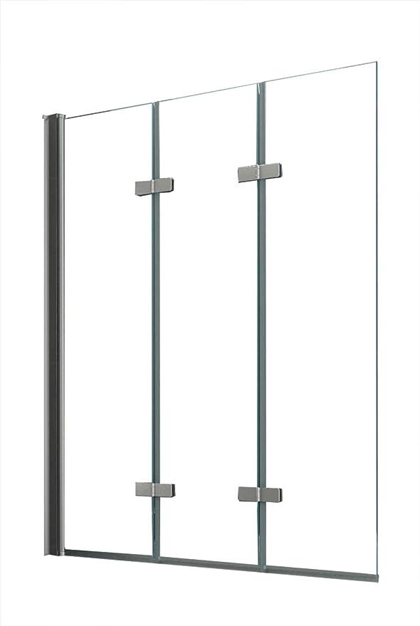 Mamparas para la bañera de cristal auténtico de 6 mm de grosor.: Amazon.es: Bricolaje y herramientas