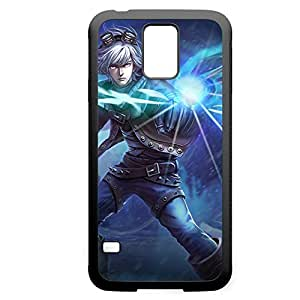 Ezreal-002 League of Legends LoL case cover Samsung Galxy S4 I9500/I9502 - Rubber Black