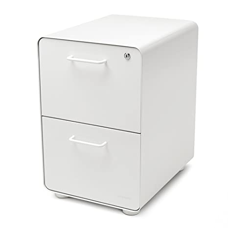 Amazing Poppin White Stow 2 Drawer File Cabinet Metal Legal Letter Download Free Architecture Designs Grimeyleaguecom