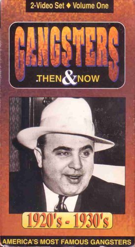 Gangsters Then & Now 1920's - 1940's Box Set of 2 VHS -