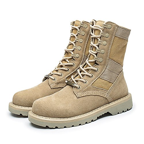 KARKEIN Military Tactical Boots Army Combat Jungle Boots Lace Up Desert Martin Boots for Women and Men