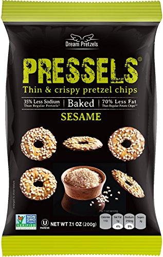 (Dream Pretzel Chip Pressel Sesame natural, 7.1 oz)