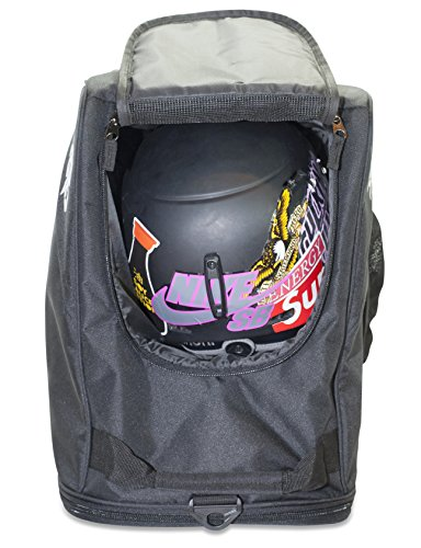 Shred Soles Snowboard Ski Boot Bag Pack with Changing Mat, Helmet & Goggle Pocket by Shred Soles (Image #3)
