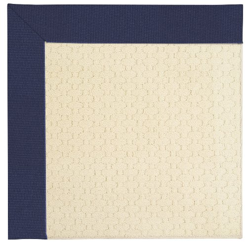 10' x 10' Octagonal Made-to-Order Capel Area Rug 2008GS1000467 Navy Color Machine Made in USA