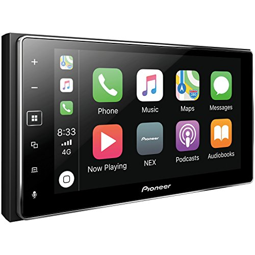 PIONEER MVH-1400NEX Digital Multimedia Video Receiver Apple CarPlay with Blue Tooth (Best Pioneer Double Din Head Unit)