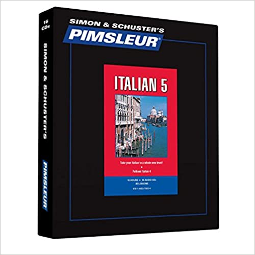 =READ= Pimsleur Italian Level 5 CD: Learn To Speak And Understand Italian With Pimsleur Language Programs (Comprehensive). Relative title cuero benefits budgets