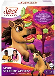 Spirit Stackin' Apples Kids Game, Treat-Stacking Challenge With Hungry Horse For 2 3 Or 4 Players 5 Years Old