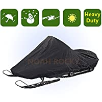 Outdoor Indoor Deluxe Heavy Duty Snow Mobile Cover Protection Patio YHXC4