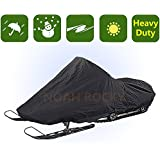 Outdoor Indoor Deluxe Heavy Duty Snowmobile Cover Protection Patio YHXC4