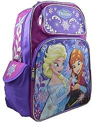 Disney - Frozen Girls Deluxe 3D Design 16 School Backpack Travel Bag