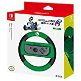 HORI Nintendo Switch Mario Kart 8 Deluxe Wheel (Luigi Version) Officially Licensed By Nintendo - Nintendo Switch