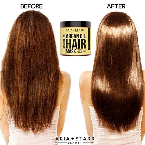 Use This Oil Before Coloring Your Hair: Aria Starr Argan Oil Restorative Mask Repair Hair