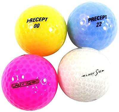Nitro Precept Translucent Mix Recycled Golf Ball (36 Count)