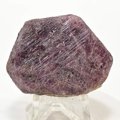 370 Carat Red Ruby Stone Specimen Natural Red Corundum Crystal Gemstone Sparkling Mineral Cab Rock for Carving - Madagascar