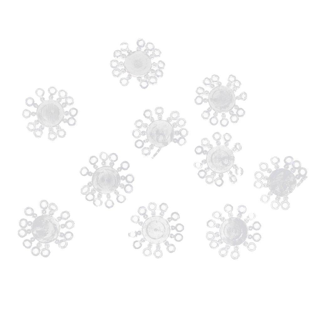 100 Stücke Elastische Gummi Karpfen Pellet Köderbänder für Karpfen Grab