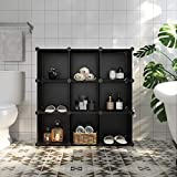 SONGMICS Cube Storage Organizer, 9-Cube