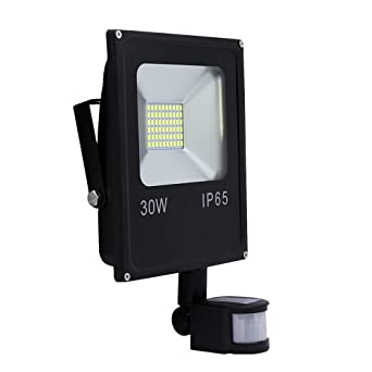Hengda® Foco proyector Exterior LED detección de movimiento (30W ...