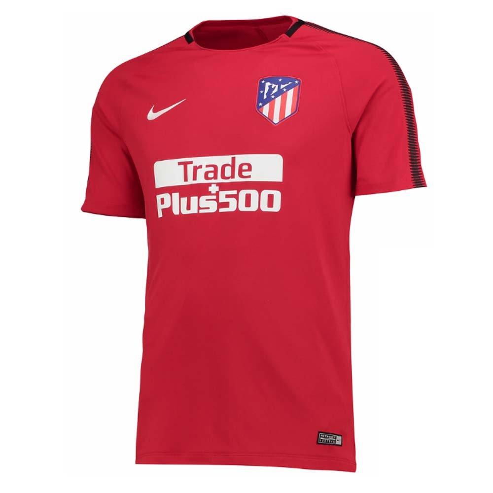 2017-2018 Atletico Madrid Nike Training Shirt (Red) Kids B074LG587RRed LB 30-32\