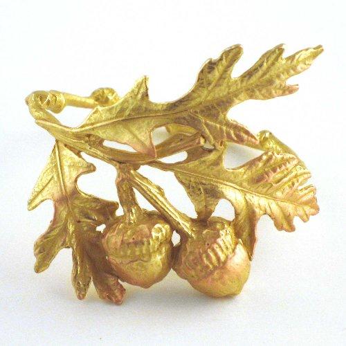Bronze-Acorn-and-Oak-Leaf-Napkin-Rings
