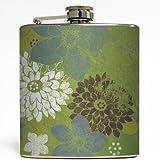 Flower Child - Liquid Courage Flasks - 6 oz. Stainless Steel Flask