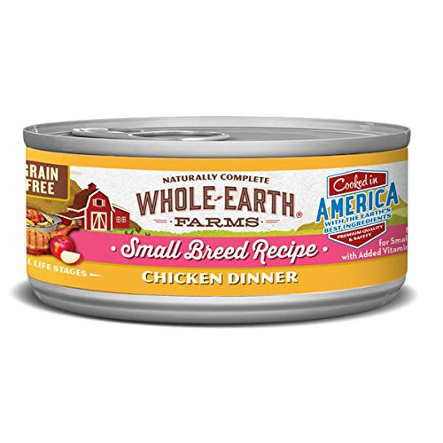 Whole Earth Farms Small Breed Wet Dog Food, 3 oz, 24 count case