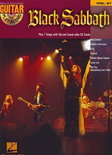 Black Guitar Sabbath (Black Sabbath: Guitar Play-Along Volume 67)