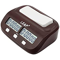 Compact Digital Chess Clock Count Up Down Timer by LEAP