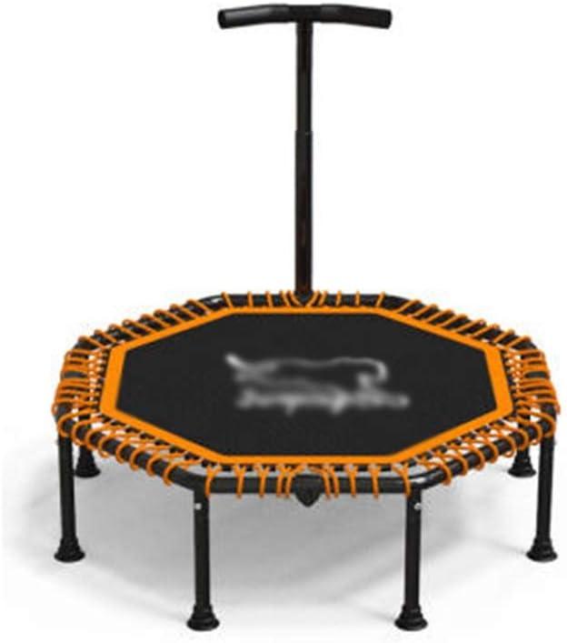 トランポリン、子供の大人の屋内庭園の行使のための安全マットミュートエクササイズトレーナーとミニフィットネス折りたたみトランポリン ミニトランポリン (Size : 45inch)