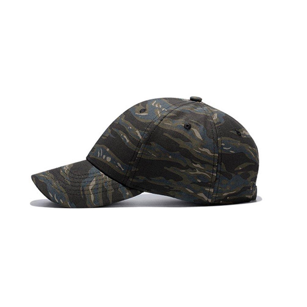 Dexinx Modo degli Uomini Regolabile Comode di Sport Caps Estate Camouflage  Semplice Berretto da Baseball Camuffamento  Amazon.it  Abbigliamento b919dccedf97