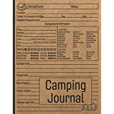 Camping Journal: Family RV Travel Logbook / Memory Book For Adventure Notes / Campground Notebook / Caravan Road Trip Diary /