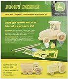 Masterpieces Masterpieces Wood Paint Kit, John Deere Tractor