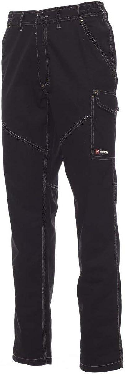Pantaloni da Lavoro Payper Worker Unisex Uomo Donna multistagione Cotone 100/% Comodi e Resistenti,Corrispondenza Taglie Italiane