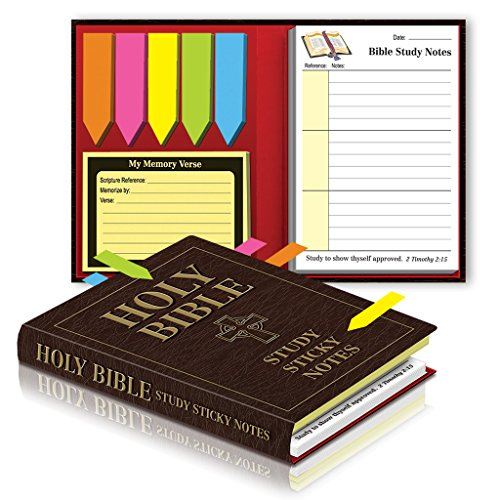Holy Bible Study Sticky Notes