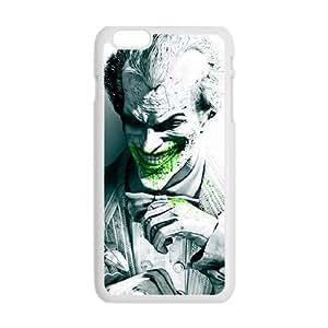 Cool Painting Unique joker arkham city Cell Phone Case for Iphone 6 Plus