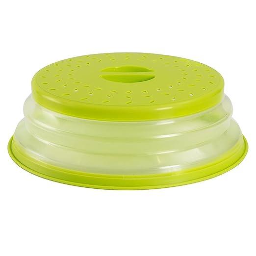 ouchan tapa para microondas plegable colador colador para frutas verduras, BAP libre y no Tóxico