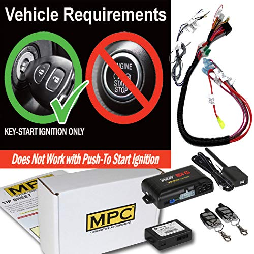 MPC Remote Start & Keyless Entry Kit Fits Select Chevrolet and GMC Vehicles 2002-2009 - Prewired to Simplify ()