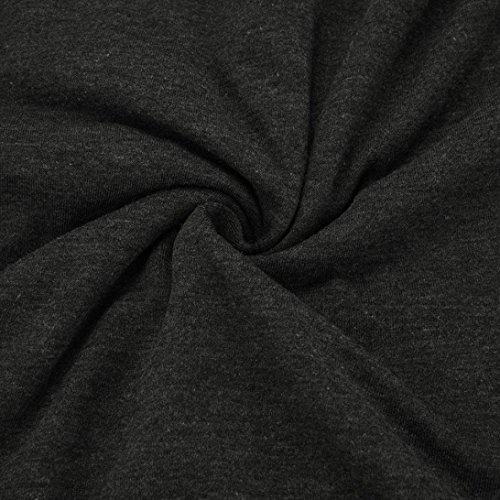 Chemisier Occasionnelles Manches JIANGfu Shirt T 2pcs Bouton O Patchwork col Mode Femmes Noir Chemisier Femme Longues twgqpBA