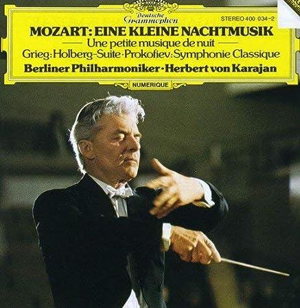 Eine Kleine Nachtmusik / Holberg Suite by KARAJAN / BERLIN PHIL ORCH (1982-12-15)