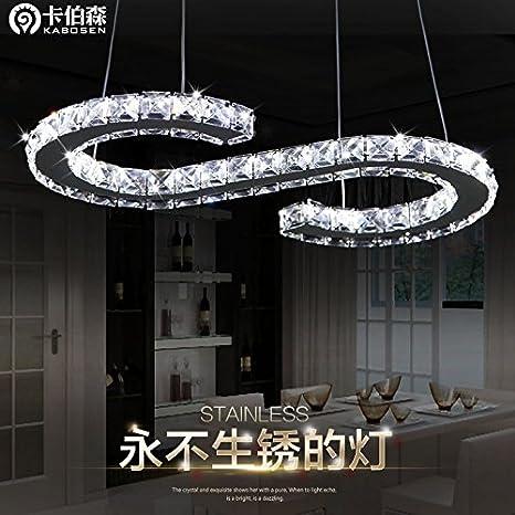 Leihongthebox Iluminación colgante elegante colgante de ...