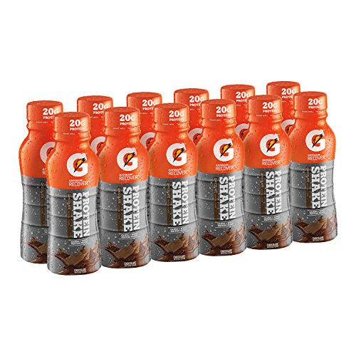 Gatorade Recover Protein Shake, Chocolate, 11.16 Ounce, 12 Count