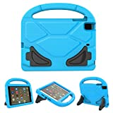 PC Hardware : iPad Mini Case, iPad Mini 2 / Mini 3 / Mini 4 case, Ubearkk [Shockproof] Case Light Weight Kids Friendly Case Super Protection Cover Handle Stand Case for Apple iPad Mini 1 / 2 / 3 / 4 (Blue)