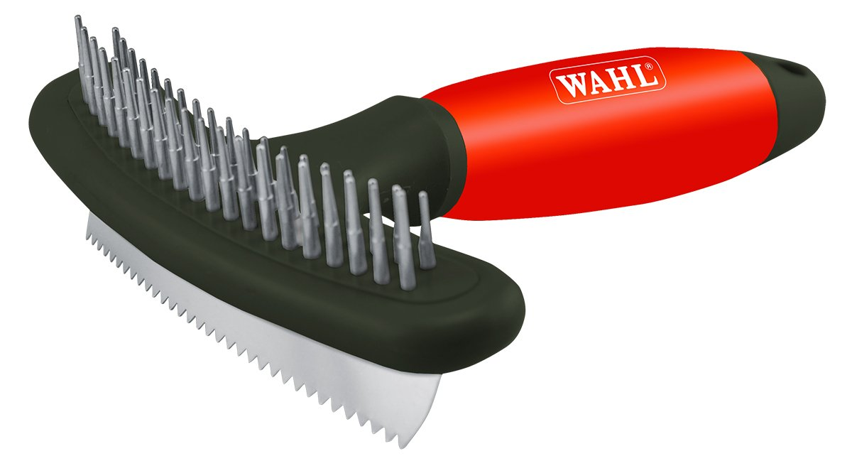 Wahl 58643 Double Row Rake and Shedding Blade for Dogs with Comfort Gel Handle Wahl Pet Products - Canada