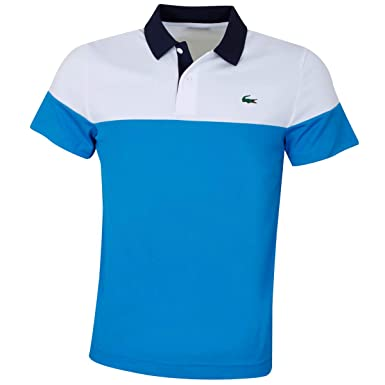 4edc560a26 Lacoste DH3399 Homme Polo Manches Courtes Manches Courtes,Monsieur Polo,2  Boutons,Taille