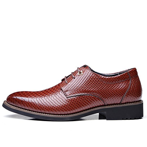 Leather Shoes Geniune Casual Moc Business Loafer Slip Toe On For Dress Shoes Splink Mens Men Shoes Shoes Comfortable Red Dress xqIaap