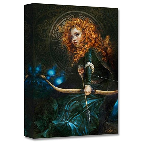 """Her Father's Daughter"" Limited edition gallery wrapped canvas by Heather Theurer from the Disney Treasures collection; with COA."